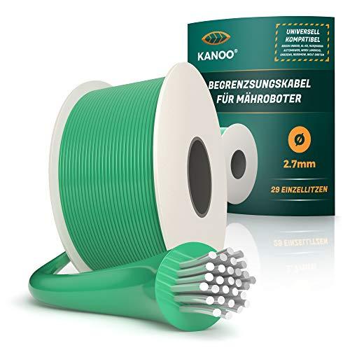 kanoo® Cable delimitador para robot cortacésped, universal