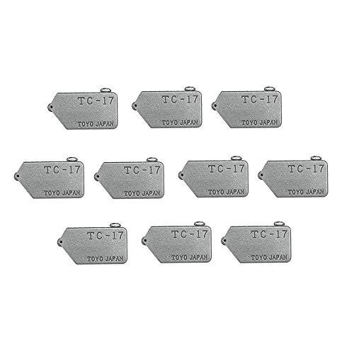 ZOYOSI 10 piezas de repuesto TC-17 para Toyo vidrio corte recto cortador cabeza