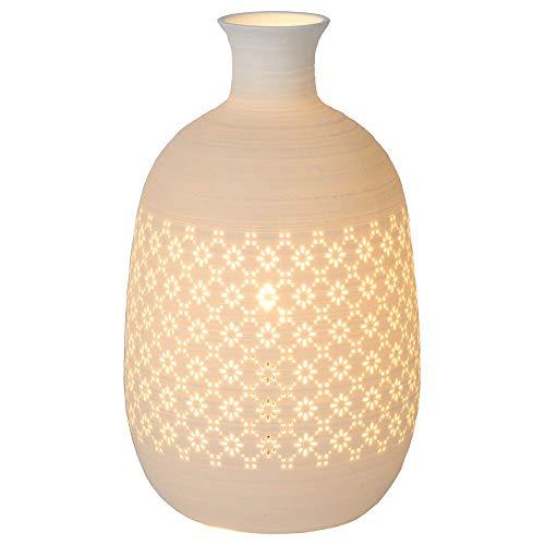 Tischleuchte & Nachttischlampe Tischleuchte in Weiß 154mm TIESSE E14 Porzellan Wohnzimmer | 1-flammig