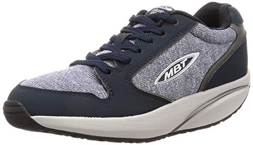 MBT Women's1997 Petrol Blue Casual Sneakers 700709-1143Y Size 6-6.5