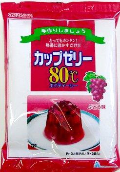 かんてんぱぱ カップゼリー ぶどう味100gX5袋 10個セット