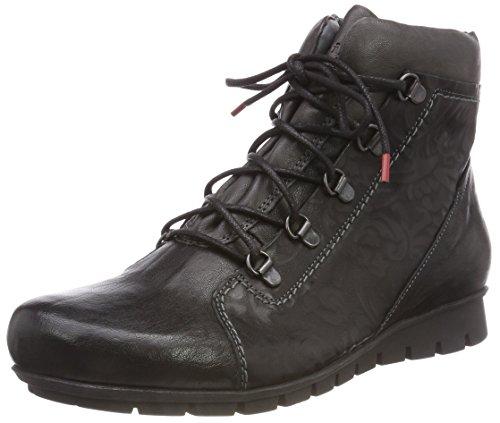 Think! Damen MENSCHA_383078 Desert Boots, Schwarz (09 Sz/Kombi), 38 EU