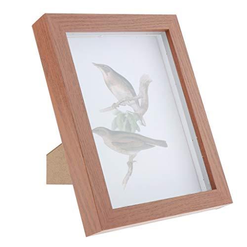 dailymall Holzbilderrahmen Bilderrahmen mit Glas, Geburtstagsgeschenk für DIY Handarbeiten und Zuhause Dekoration - A