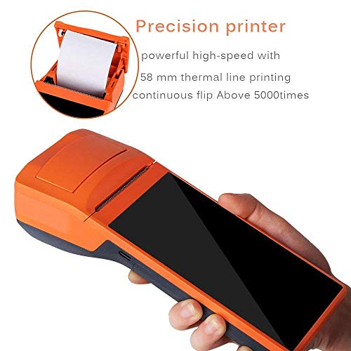 Android Bluetooth Thermal Receipt Printer with Barcode/QR Code Scranner 58MM Receipt All in one POS System