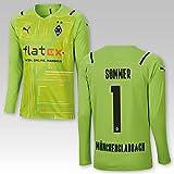 TSH7NDF BMG Goalkeeper Trikot Jan Sommer # 1 Kids 2021/22, Größe:164, Spielername:Sommer
