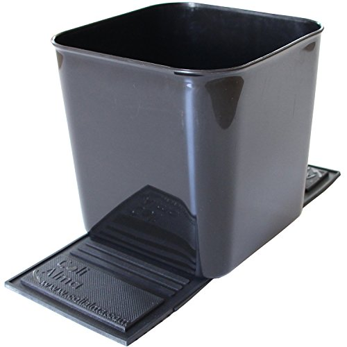 Product Image of the Auto Car Vehicle Garbage Can Trash Bin Waste Container Quality Plastic EXTRA LARGE 1 Gallon 4 Liter, Quality For Life