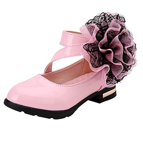 Sandalen Mädchen Für Hochzeit Festlich Leder Mit Absatz Elegant Princess Schuhe