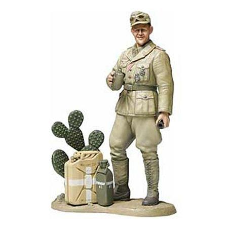 タミヤ 1/16 ワールドフィギュアシリース No.10 ドイツ陸軍 アフリカ軍団 戦車兵 プラモデル 36310