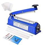 Suteck 8 inch Impulse Bag Sealer, Manual Poly Bag...