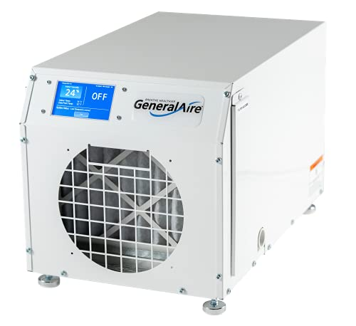 GeneralAire DH75 Pint Per Day Wi-Fi And Touch Screen Control Dehumidifier