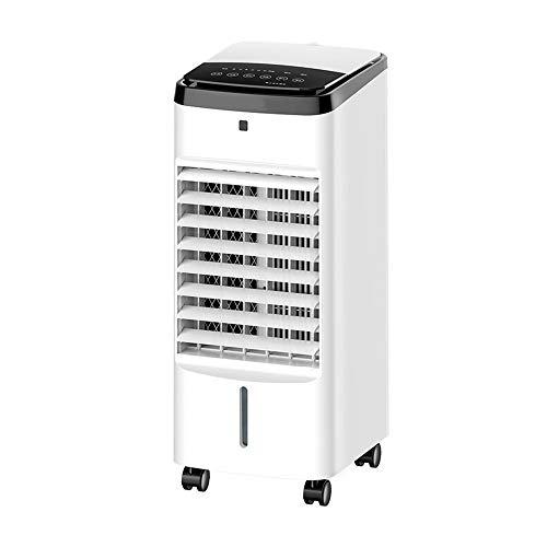 Ventilador de aire acondicionado, Mini enfriador de aire portátil, Aires acondicionados móviles para el hogar, Ventilador/humidificador/acondicionador 3 en 1, para dormitorio, sala de estar