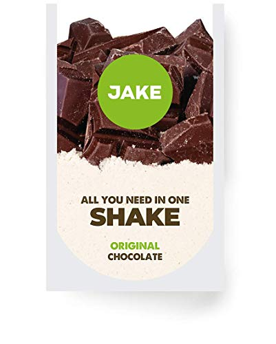 Jake Chocolate Original 80 Meals │ Vegan Meal Replacement Powder Shake, Plant-Based, Nutrient Dense, High Protein