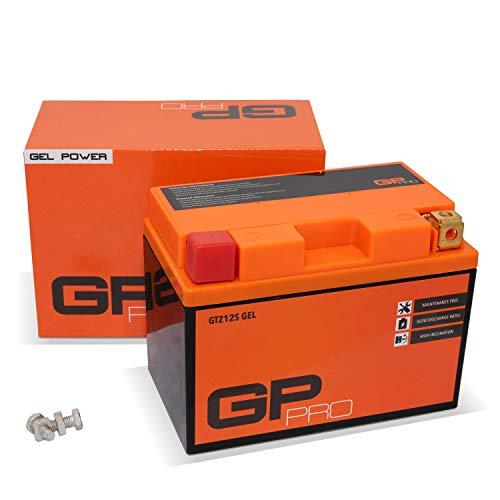 Batería 12V 11Ah Gel GP-Pro (TYP - GTZ12S / similar YTZ12S) (sellado / sin mantenimiento)
