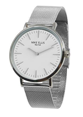 Mike Ellis New York Damen Armbanduhr Ø 38mm Silber