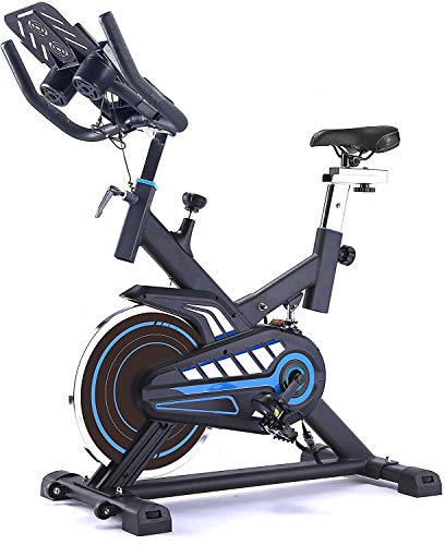 Spin Bike Indoor Bicycle Fit Bike Workout Aerobic Cycle Fitness con Display a LED e cardiofrequenzimetro