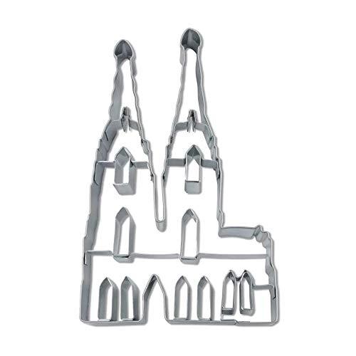 Städter Präge-Ausstecher Ausstechform, Edelstahl, silber, 12 cm