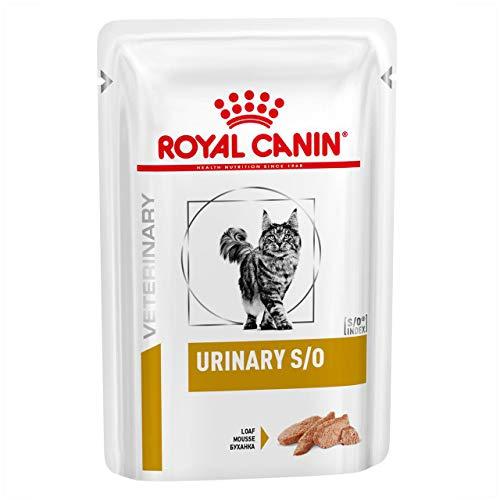 zoodiscount 48x85 g Royal Canin Urinary S/O Loaf in Sauce Frischebeutel für Katzen