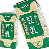 九州乳業 みどり豆乳 成分無調整豆乳 1L紙パック×6本[賞味期限:製造日より120日]