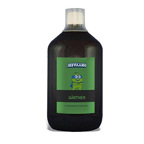 Jeevaanu® Gärtner   Mikrobiologischer Bodenverbesserer   Natürlicher Pflanzenschutz   Konzentrat   1000 ml