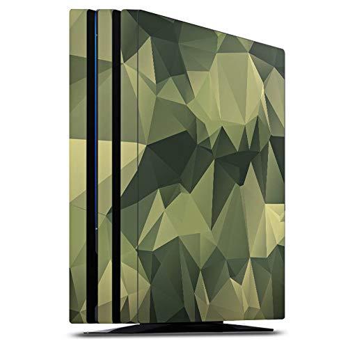 DeinDesign Skin kompatibel mit Sony Playstation 4 PS4 Pro Folie Sticker Camouflage Tarnmuster Bundeswehr