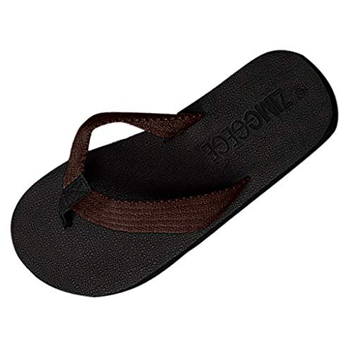 Nyuiuo Hombres Moda Verano Playa Zapatilla Chanclas Tejido Ocio Inicio Zapatos Zapatillas De Playa Antideslizantes De Sandalias Personalizadas Sandalias Al Aire Libre Marea Chanclas