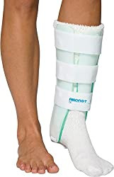 Aircast Leg Support Brace (with and without Anterior Panel).  A Pneumatic Leg Brace for Tibial Stress Fracture – No Boot.  Use your own shoes.