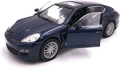 H-Customs Porsche Panamera S Modellauto Auto Lizenzprodukt 1:34-1:39 Blau