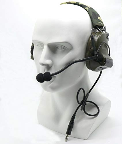Z Tactical Comtac II Headset Airsoft HuntingActive Noise Canceling Military Z041