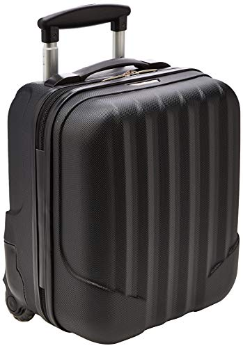 WITTCHEN Reisekoffer Trolley 17 Koffer Bordgepäck Handgepäck Schwarz Abmessungen: 32 x 25 x 42 cm Kapazität: 25 L Gewicht: 2 KG ABS V25-10-232-10
