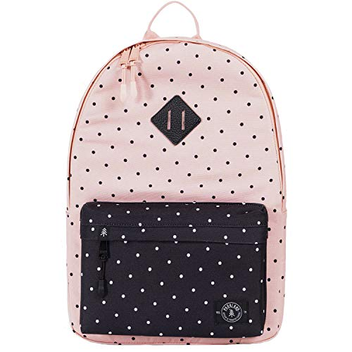 PARKLAND Damen Kingston Rucksack, Polka Dots Quarz, One Size