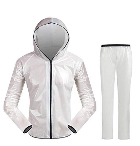 Sports Riding Split regenjas regenbroek pak buiten waterdichte Riding Suit Zon Poncho Fiets Fashion Raincoat Upgrade for Fietsen, Bergsport en Wandelen