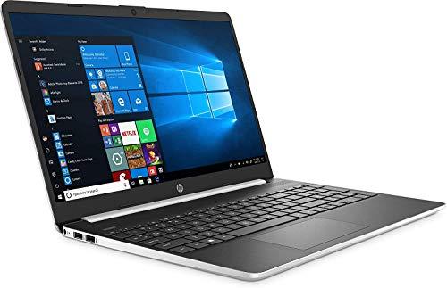 HP 15-DY100 Slim Laptop in Silver Intel i7 up to 3.9GHz (28GB Memory) 12GB RAM + 16GB Optane 256GB SSD 15.6in HD Webcam WiFi (Renewed)