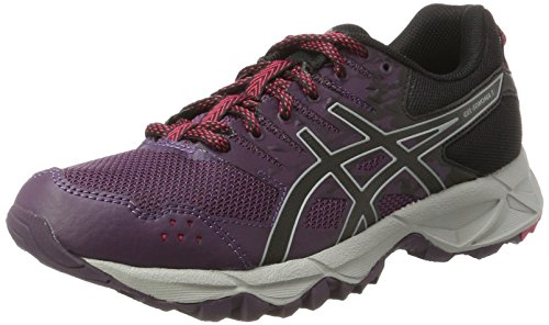 Asics Damen Gel-Sonoma 3 Gymnastikschuhe, Grau (Winter Bloom/black/mid Grey), 37.5 EU