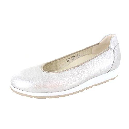 Waldlaufer 966501 172 230 Hara H dames Ballerina schoen in Taupe leer 150