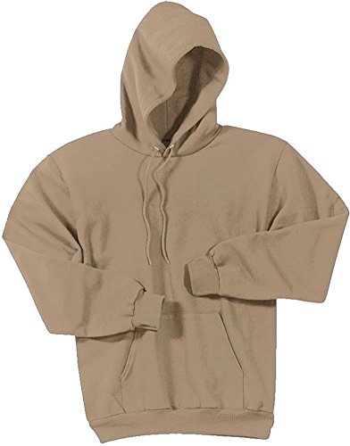 Joe's USA Hoodies Soft & Cozy Hooded Sweatshirt,Small Sand