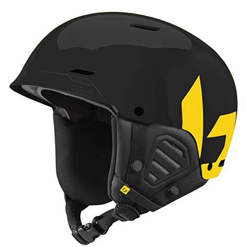 Bollé Mute Skihelmen Black & Yellow Unisex Volwassenen 52-55 cm, Black