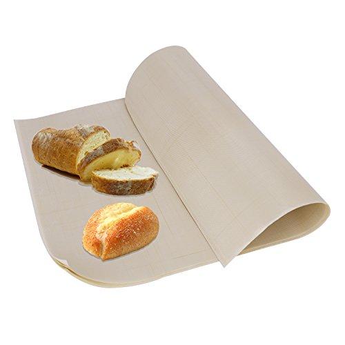 オーブンシート 繰り返す使える クッキングシート 10枚セット 30×40cm オーブンペーパー 厚 無漂白 温度耐性(-40℃〜270℃) 耐油 耐久 粘着防止 両面使用 水洗い可能 お餅 お菓子作り 2色