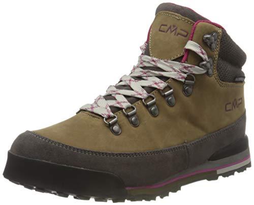 CMP Damen HEKA WMN Hiking Shoes WP Walking Shoe, Biscotto-Tortora, 39 EU