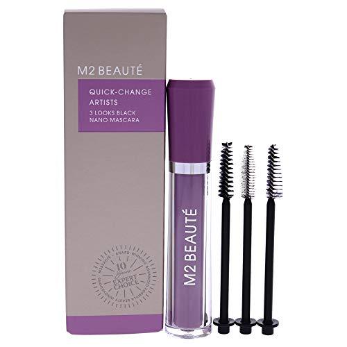 M2 Beauté 3 Looks Black Nano Mascara Set, 1 Stück