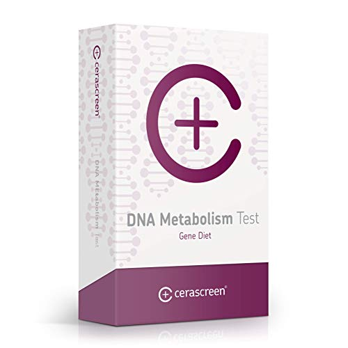 DNA Metabolisme Test - Voer de zelftest van de stofwisseling snel en eenvoudig uit vanuit huis I DNA-dieet I Bepaal nu uw stofwisselingstype en vind uw geschikte dieet