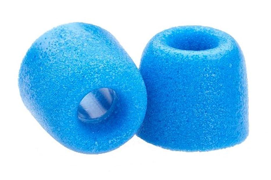 Comply Foam Premium Earphone Tips - Isolation T-400 (Blue, 3 Pairs, Medium)