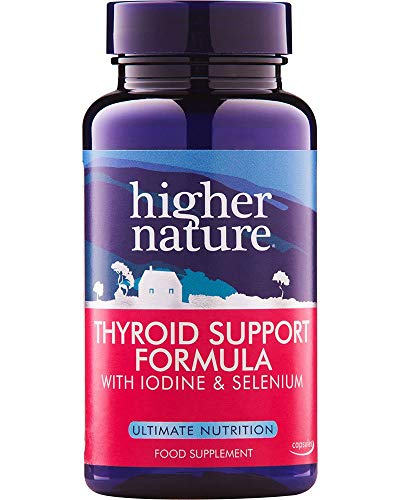 Higher Nature Thyroid Support Formula 60 Capsules (Pack of 3)