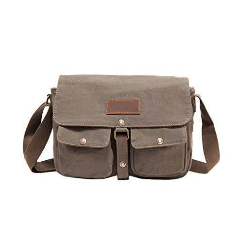 Bruin Dames Rugzak, Denim Weekend Bag Style, 11-Inch Laptop Diagonale Tas, Vrouwelijke Student Campus Schoudertas