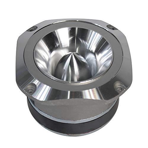 Vetrineinrete® Cassa per auto amplificata alluminio 800 watt 4 ohm altoparlante Tweeter autoradio mosfet speaker stereo macchina 93db 10x10 cm CTC-22AG D23