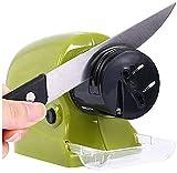 Vruti Enterprise Plastic Swifty Sharp Cordless Motorised Sharpener for Knife (Medium, Multicolour)