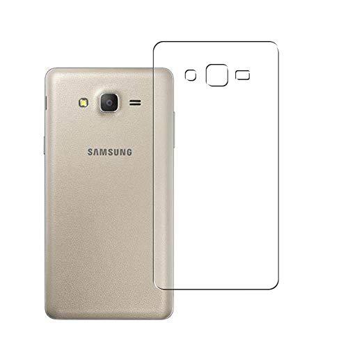 Vaxson 2 Stück Rückseite Schutzfolie, kompatibel mit Samsung Galaxy On7 Pro 2016, Backcover Skin TPU Folie [nicht Panzerglas/nicht Front Bildschirmschutzfolie]