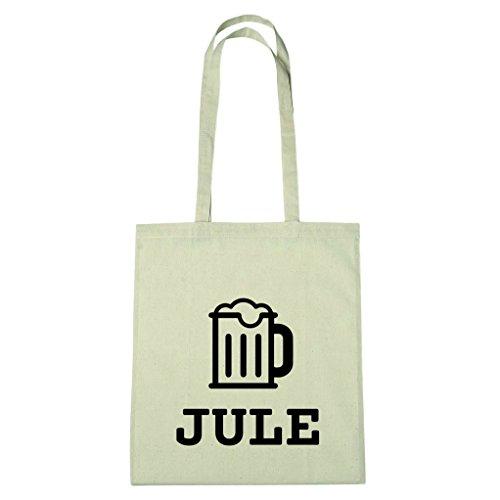 JOllify Baumwolltasche - Happy Birthday für JULE - Bier Gruß