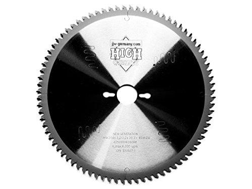 HMHoja de sierra circular New Generation, 254x 3,2x 30mm con 80dientes de HM, dientes de corte fino para Metabo KGS 254M y Metabo KGS 254M Plus
