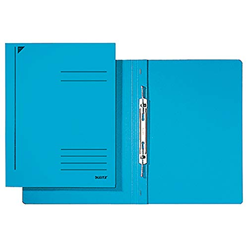 Leitz Ringordner, DIN A4, blau, bis 250 Blatt, 318 x 242 x 2 mm