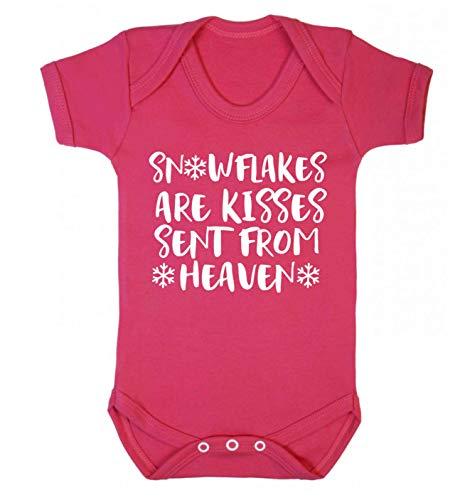 Flox Creative Snowflakes Kisses from Heaven Gilet pour bébé - Rose - Nouveau né